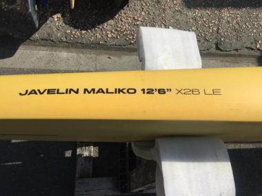 """2016 NAISH JAVELIN MALIKO 12'6""""LE"""